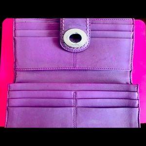 Light purple/lilac pocketbook or wallet